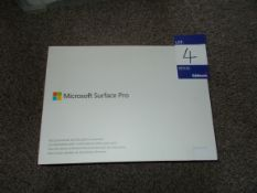 Microsoft Surface Pro (5th Generation) Model 1796,