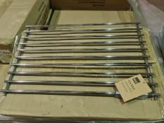 (D19) PALLET TO CONTAIN 42 x NEW CHROME LARGE PAN