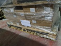 (D8) PALLET TO CONTAIN 100 x NEW 4KG BOXES OF 5x25