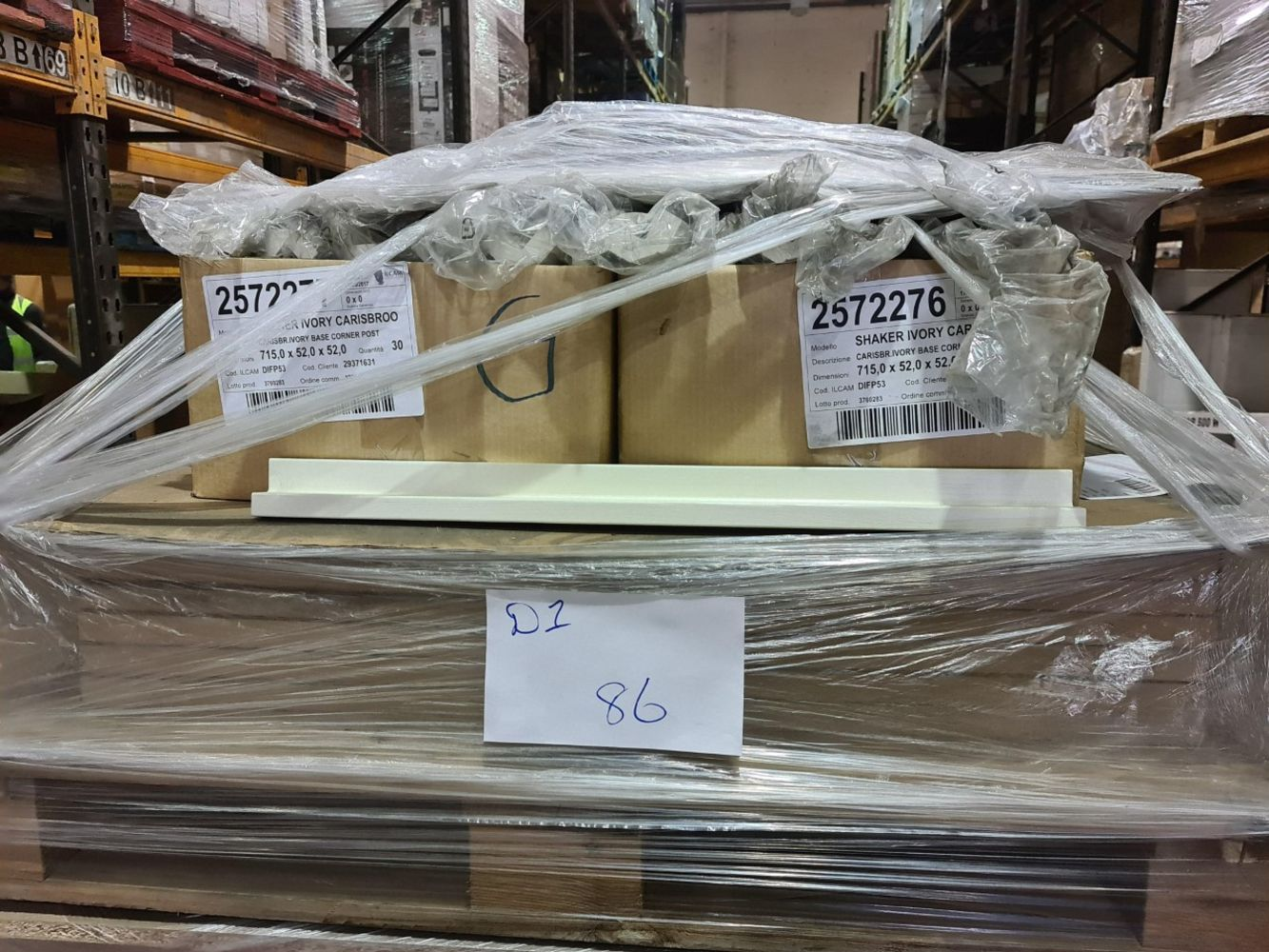 Pallets of DIY, Kitchen Goods, Screws, Bolts, Lightbulbs, Household Goods