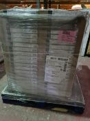 (D15) PALLET TO CONTAIN 84 x SETS OF DARWIN NARROW