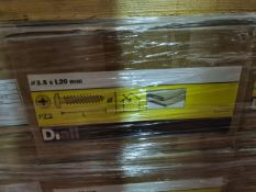 (D6) PALLET TO CONTAIN 41 x NEW 4KG BOXES OF 3.5X2