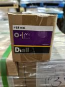 (S15) PALLET TO CONTAIN 196 x NEW 4KG BOXES OF 18MM FLAT WASHERS STEEL. RRP £17 PER BOX
