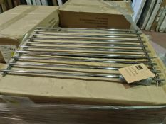 (D18) PALLET TO CONTAIN 108 x NEW CHROME LARGE PAN