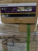 (S22) PALLET TO CONTAIN 65 x NEW 4KG BOXES OF M6x50MM HEX BOLT. ZP. RRP £24.25 PER BOX