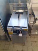 Falcon S/S Twin Basket Gas Range Fryer