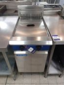 Blue Seal S/S Electric Range Twin Basket Free Standing Commercial Fryer
