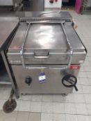 Mareno S/S Gas Range Bratt Pan