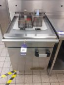 Commodore 2000 S/S Twin Basket Gas Range Commercial Fryer