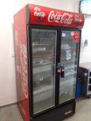 Coca-Cola Double Door Bottle Chiller