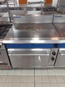 Blue Seal S/S Solid Top Gas Range Industrial Cooker