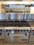 Commodore 2000 S/S Gas Range Commercial Cooker