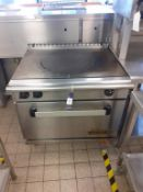 Commodore 2000 Solid Top S/S Gas Range Commercial Cooker