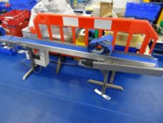 SS Variable speed conveyor