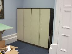 2 Double door steel office cupboards – Located Mou