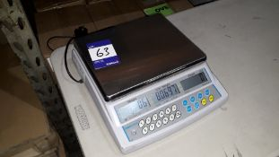 Adam Equipment CBC 8Kg Digital Counting Scale