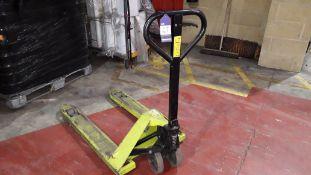 Pramac Q Lifter 2,200kg Pallet Truck (spares or repair)