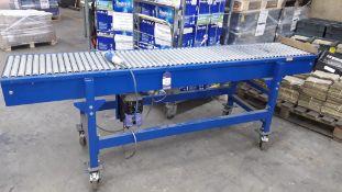 Unbadged Powered Roller Conveyor 2,400 x 400mm