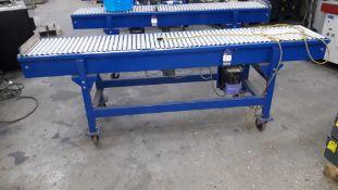 Unbadged Powered Roller Conveyor, 2,500 x 400mm