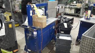 Mosca ROM P4 Strapping Machine, serial number 76280 (2004)