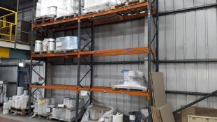 5 x Bays of Boltless Steel Pallet Racking