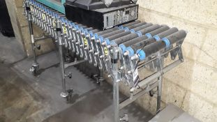 Steel Collapsible EXP-PW400-3.5-L2 Roller Conveyor, Serial Number 40444 (2017)