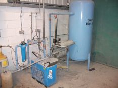 CDA refrigerant Air drier, Vertical air receiving tank and HPC OW4 oil/water separator