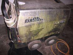 MAC AVANT industrial pressure washer, diesel hot stainless, 240V