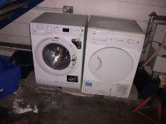 Hotpoint 7KG washing machine and Beko condenser sensor Tumble drier