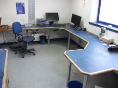 Loose and removable contents to offices including computer monitors, chairs, filing cabinets etc (