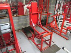 Unbranded Vertical Quad Exercise Machine