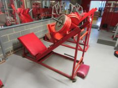 Unbranded Incline Quad Exercise Machine with weights