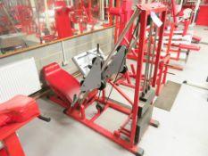 Panatta Sport Incline Quad Exercise Machine
