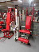 Panatta Sport Fit 2000 Quad Exercise Machine