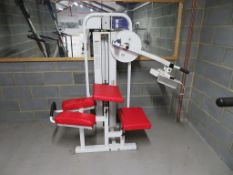 A Paramount Model 1300 Glute Exercising machine