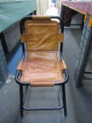 x3 Ind Saddle Side Chairs