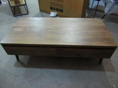 Dagmar 2 Drawer Coffee Table (RE003)