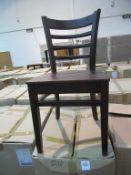 4x Dallas Side Chairs (Walnut)