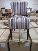 4x Memphis Dining Chairs (Riga 43)