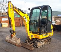 JCB 8014 Cab Mini Excavator, with mechanical quick hitch & ditch buckets, Year 2017, Hours 1,050.