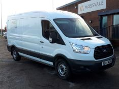 Ford Transit LWB Panel Van, customised as a dry riser van, including pump and tank, Registration