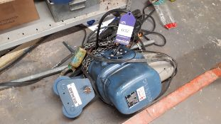 Demag PK2N-F electric hoist, 500KG SWL