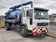 Volvo FL220 Medium Volume Jack Tanker Truck, with Gully Cleaner, with 8,050 Litre capacity Whale