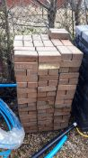 Circa 250 x Black paving bricks