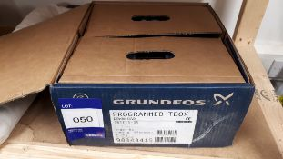 Grundfos X programmed T Box Download CRE15-05