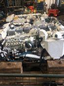 Pair of Cummins 6BTA 280hp Marine Diesel Engines