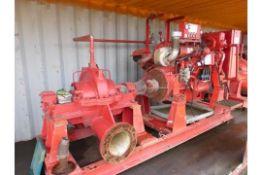 Iveco 8210SRI40 Diesel Fire Pump