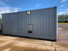 20Ft Container Ex Generator House