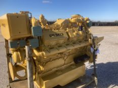 Caterpillar 3412T Marine Diesel Engine Seized