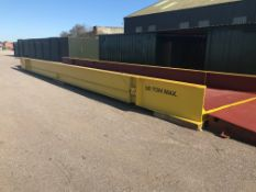 50 tonnes capacity Steel Weighbridge